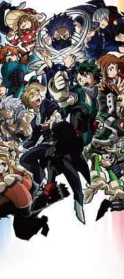 Моя геройская академия 5